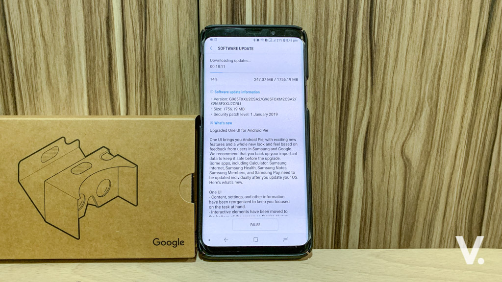 Samsung Galaxy S9 series get Android Pie with One UI
