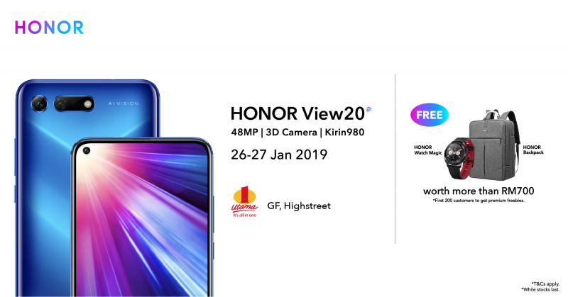 Honor View20 Promo