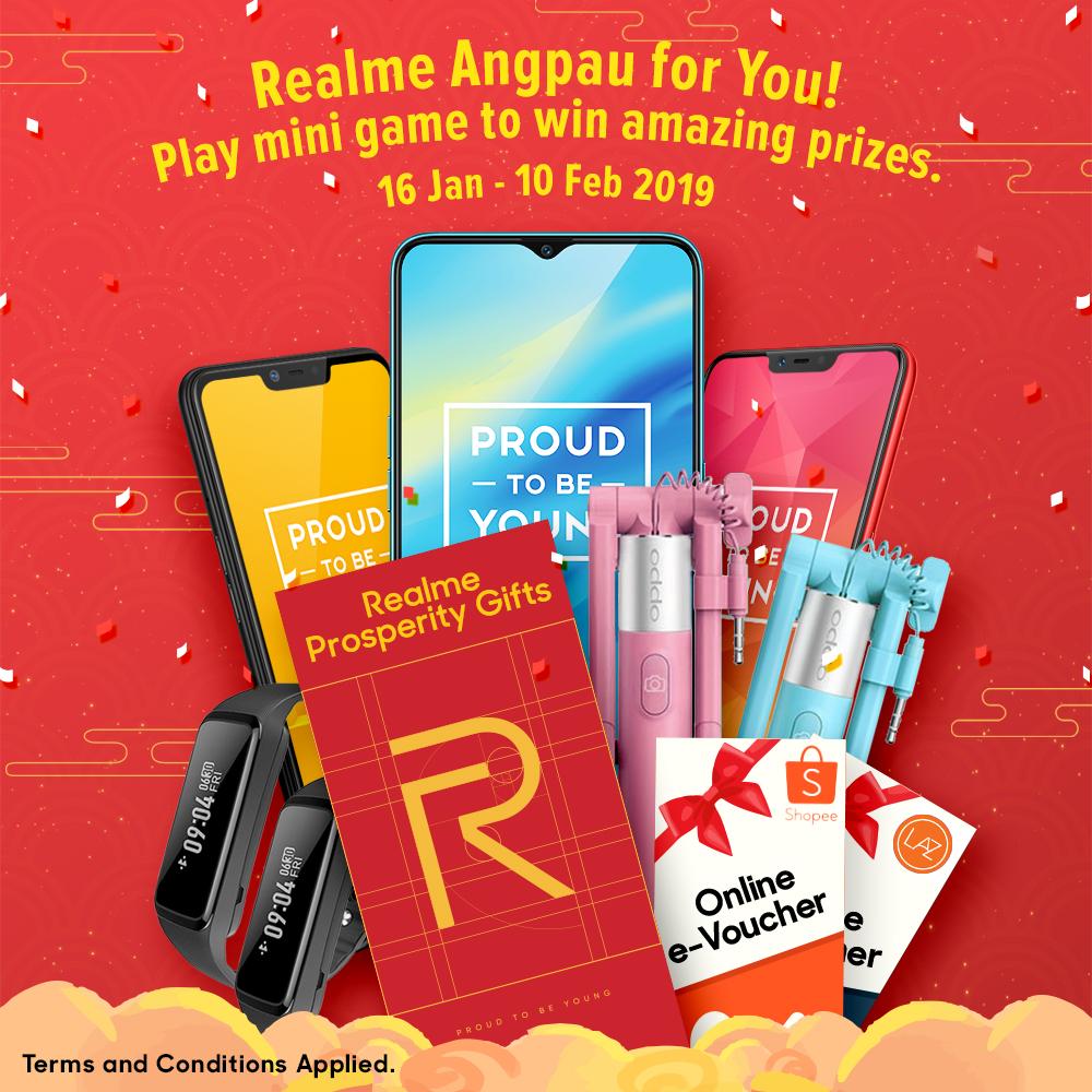 Realme Angpau For You Contest