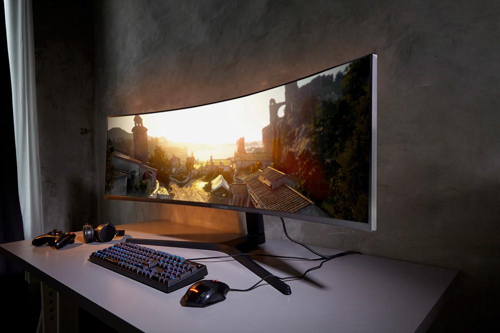 Samsung CRG9 gaming monitor