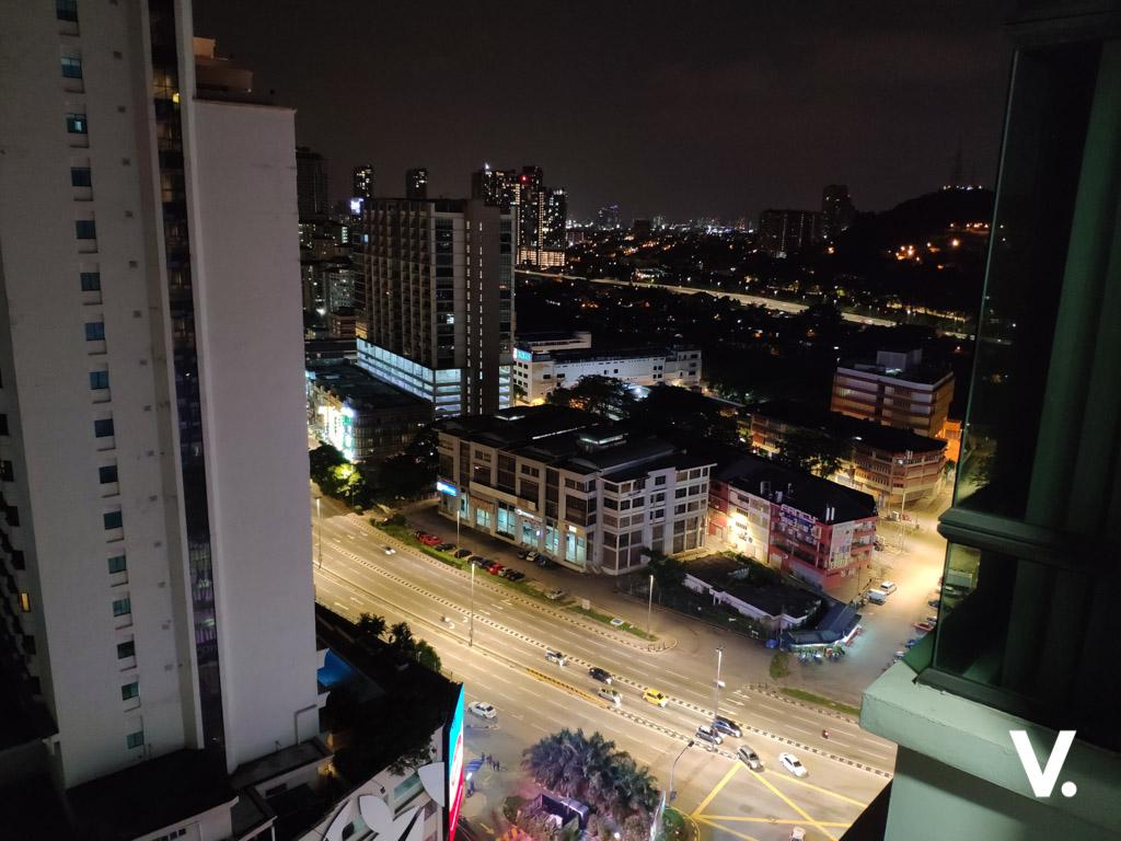 Xiaomi Mi 8 Night scene sample shot