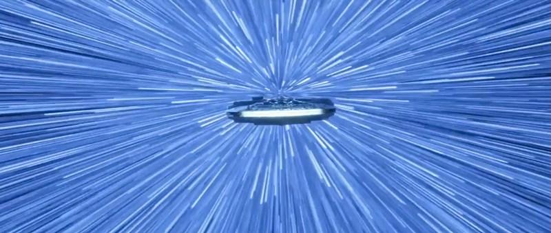Star Wars Millennium Falcom hyperdrive