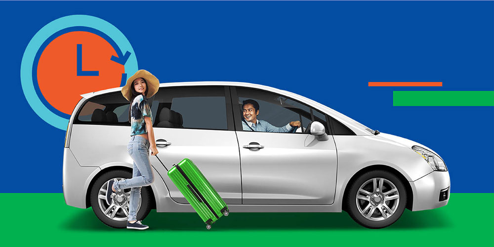 Rent A Grabcar 6 Seater With A Driver By The Hour