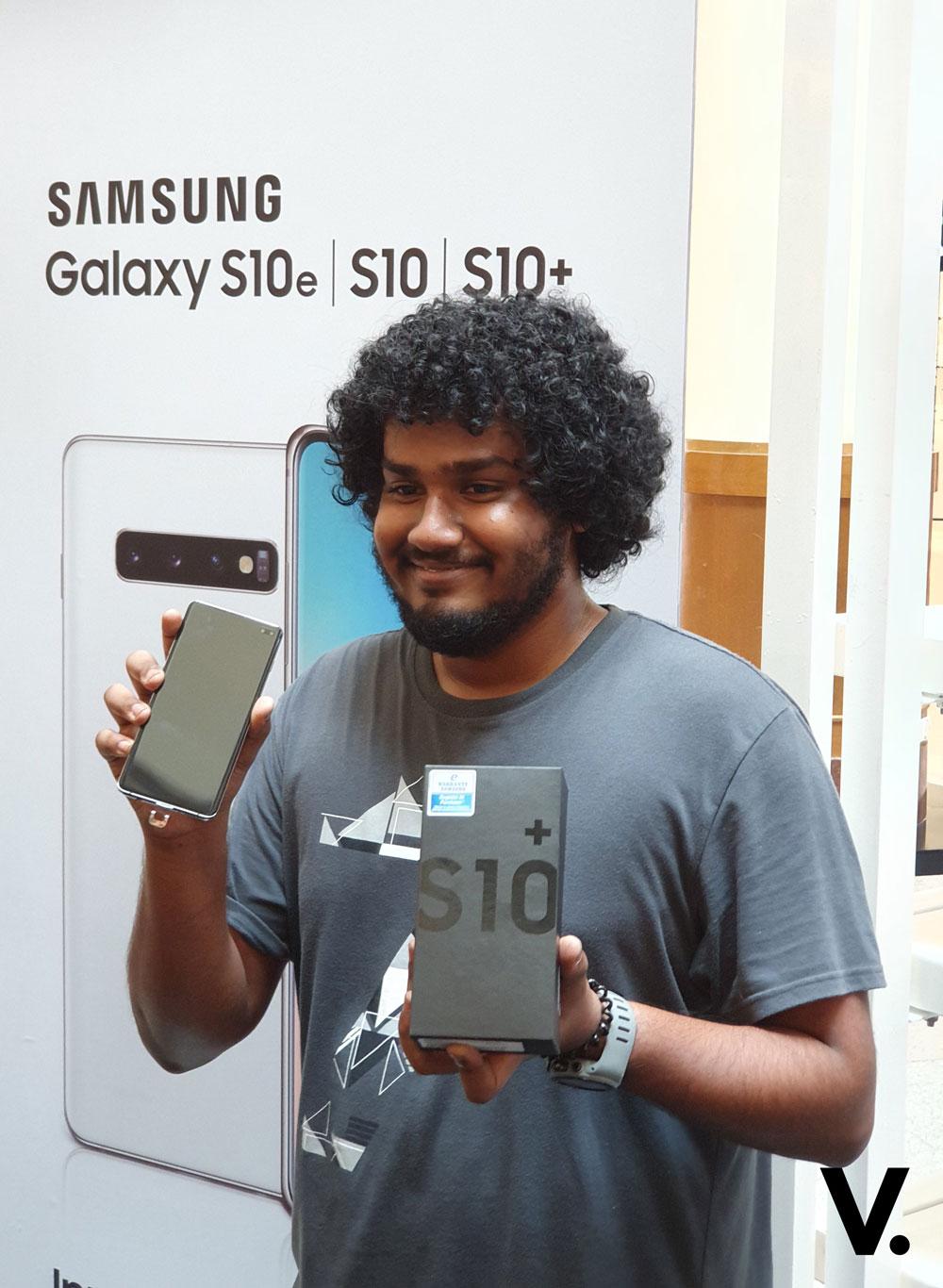 Samsung Galaxy S10 road show