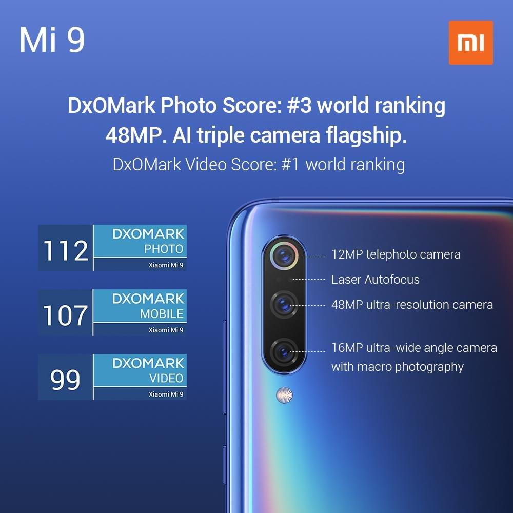 Mi 9 DxO Mark
