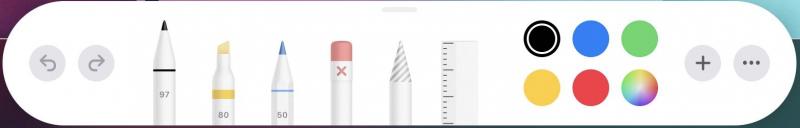 IOS 13 snapshot markup tools