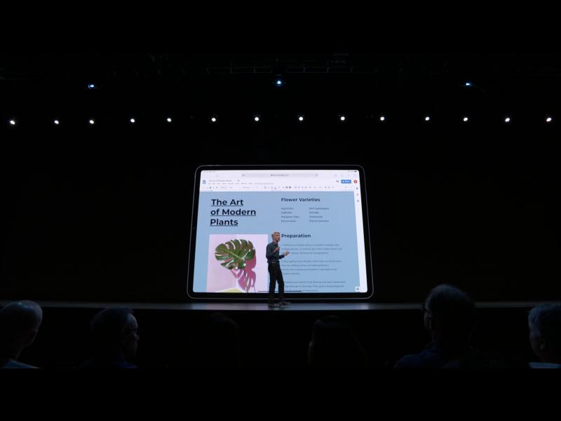 Apple WWDC19: iPadOS