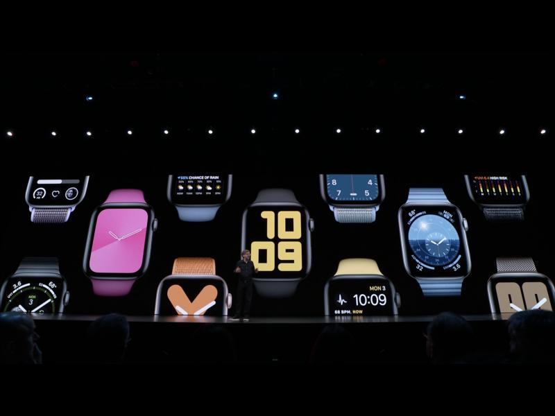 Apple WWDC19: watchOS