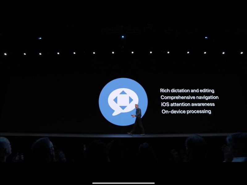 Apple WWDC19: Voice Control