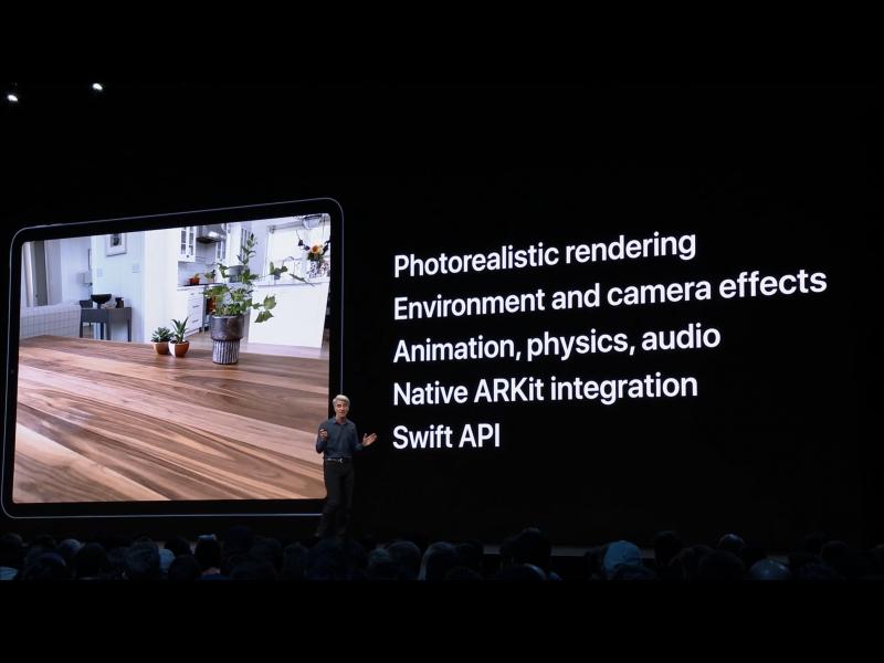 Apple WWDC19: RealityKit