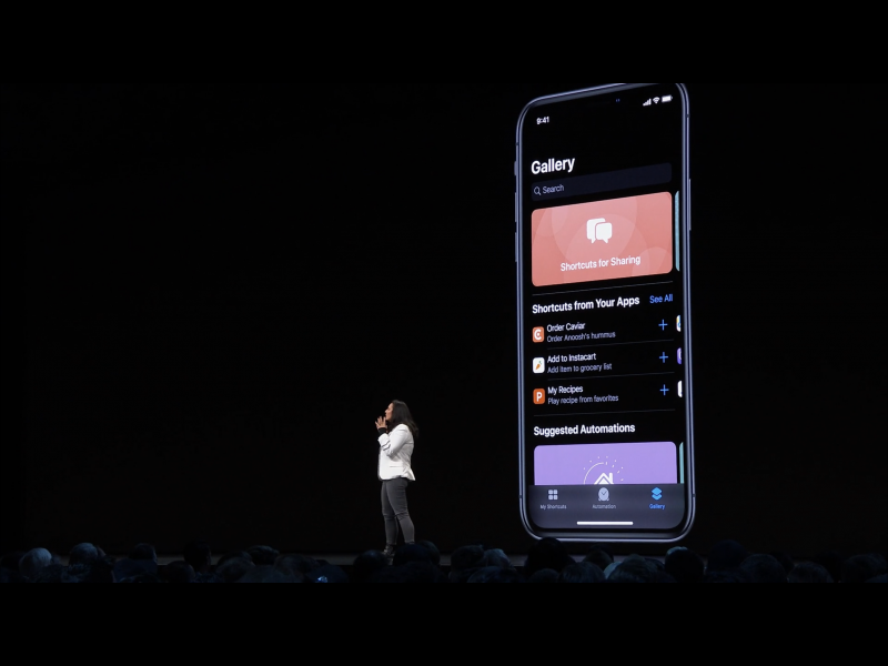 Apple WWDC19: Siri Shortcuts