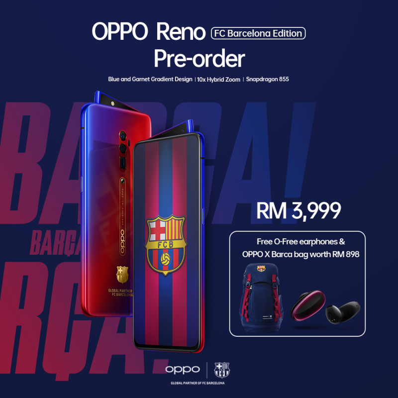 OPPO Reno FC Barcelona