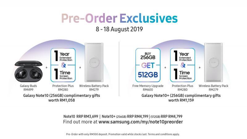 Samsung Galaxy Note10 Pre-order bundles