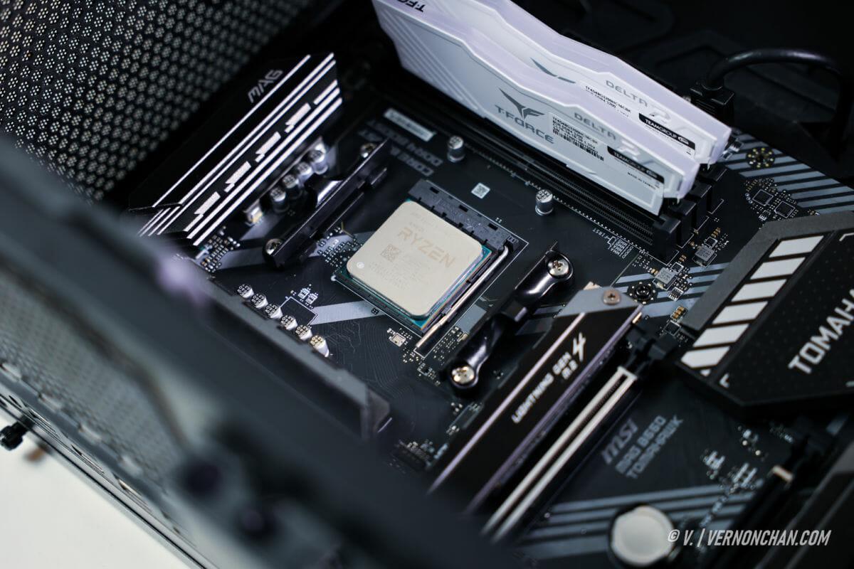 MSI AMD Ryzen 3300X Rig