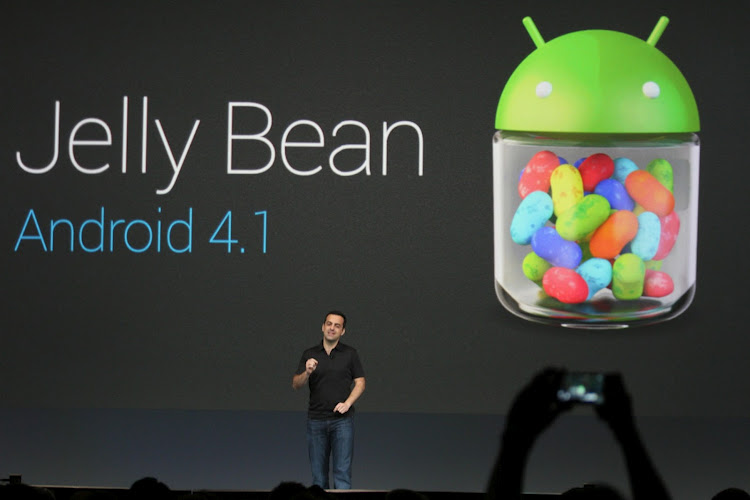 Android 4.1 Jelly Bean. Image credit: Google