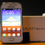 [Unboxing] Samsung GALAXY ACE Plus S7500