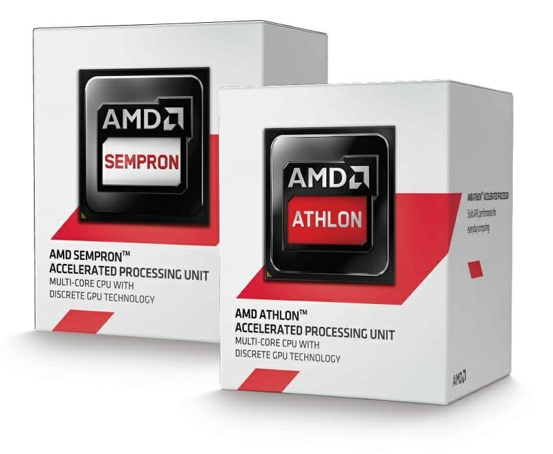 AMD Kabini boxed