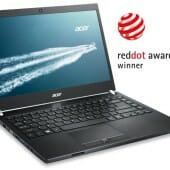 Acer TravelMate P645 notebook wins 2014 Red Dot Award