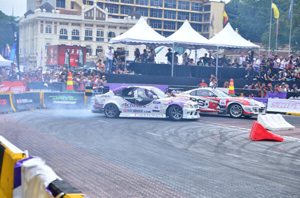 Achilles Formula Drift Malaysia Final: Daigo Saito vs Manabu Orido