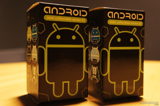 Android Mini Collectible Series 02 Giveaway on Vernonchan.com!