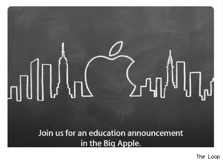 Apple Education Announcement in NYC on Jan 19 2012