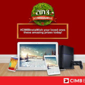 Grant Your Loved One A Wish With #CIMBInstaWish