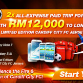 Watch Cardiff City FC Play Live with U Mobile and BCARD