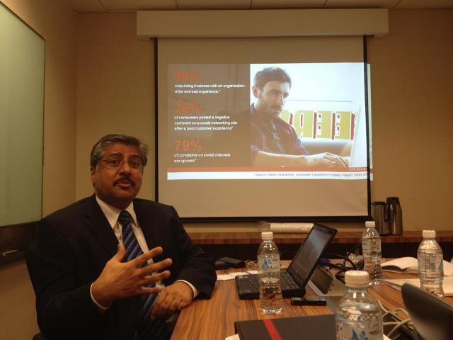 Chandru Relwani of Oracle. Image source: Techcentral