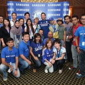 Meeting the legend -- Frank Lampard. Image credit: Samsung Malaysia