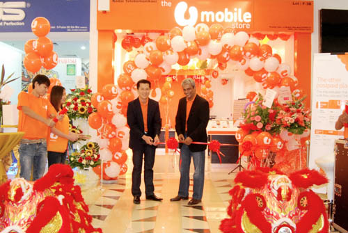 U Mobile 12th Store Official Opening