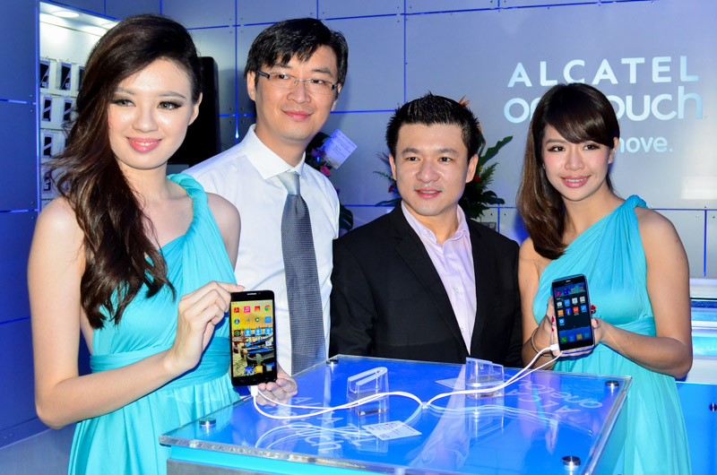 Alcatel OneTouch concept store