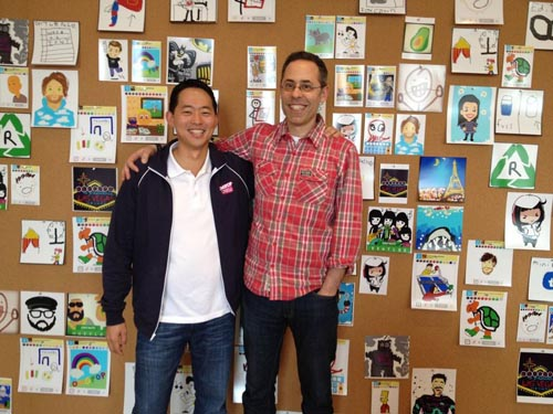 David Ko, chief mobile officer, Zynga & Dan Porter, CEO, OMGPOP