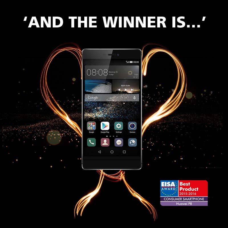 Huawei P8 EISA Award