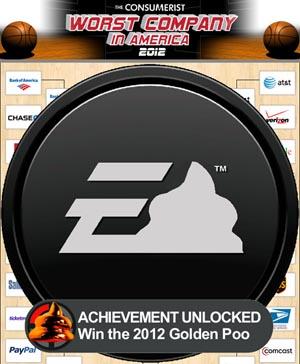 Electronic Arts - 2012 Golden Poo Winner