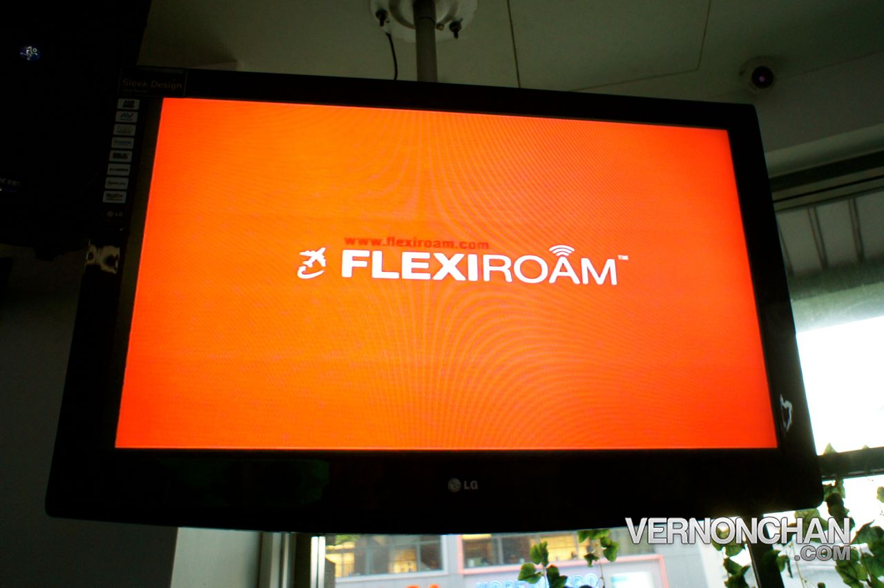 Flexiroam Blogger Event