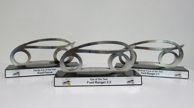 All-New Ford Ranger and Ford Focus Sweep COTY 2012 Awards