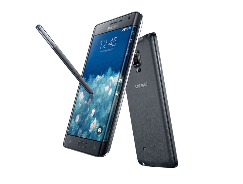 [IFA 2014] Samsung GALAXY Note Edge gives glimpse of smartphone future