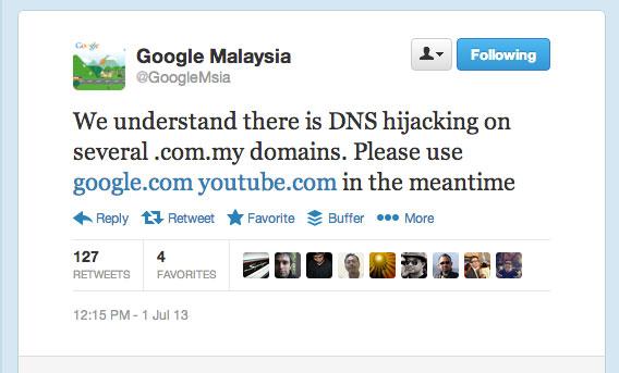 Google-Malaysia-hijacked