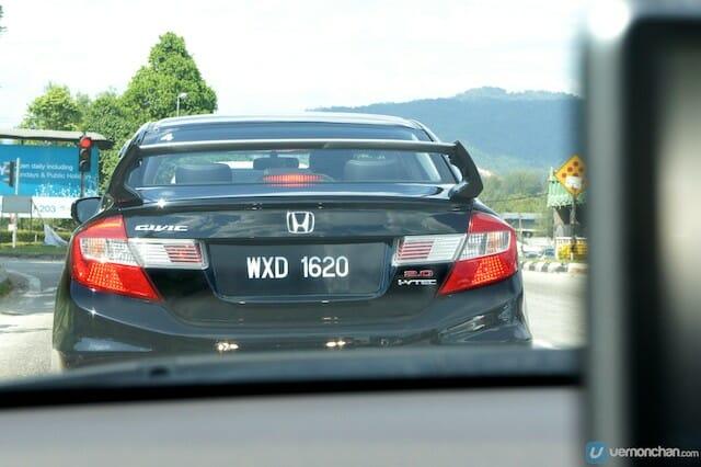 Honda Civic Blogger Drive
