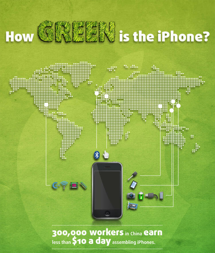 How Green is the iPhone