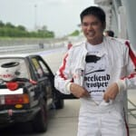 Ignition.my's Founder, Adian Yein looking like a real motorsports fan