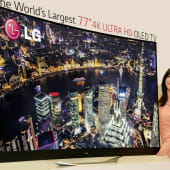 [CES 2014] LG Showcases Cutting-Edge OLED TV Lineup