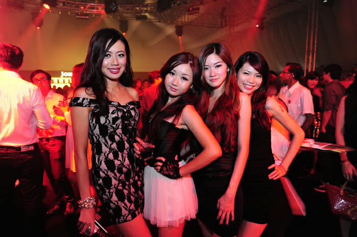 Johnnie Walker Black Circuit attracts only the hottest people in town