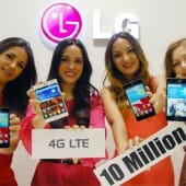 LG Surpasses Ten Million LTE Smartphone Sales