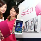 Lenovo debuts stylish new S850 smartphone