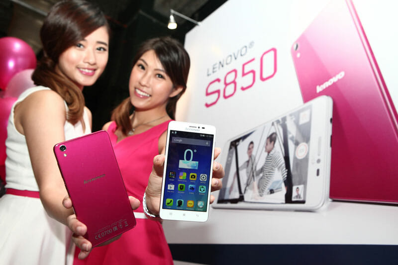 Lenovo debuts stylish new S850 smartphone