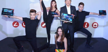 Lenovo YOGA series launch