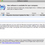 Apple Releases Mac OS X Snow Leopard Migration Assistant