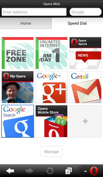 Maxis Introduces Unlimited Web Browsing Via Opera Mini