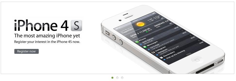 Maxis iPhone 4S